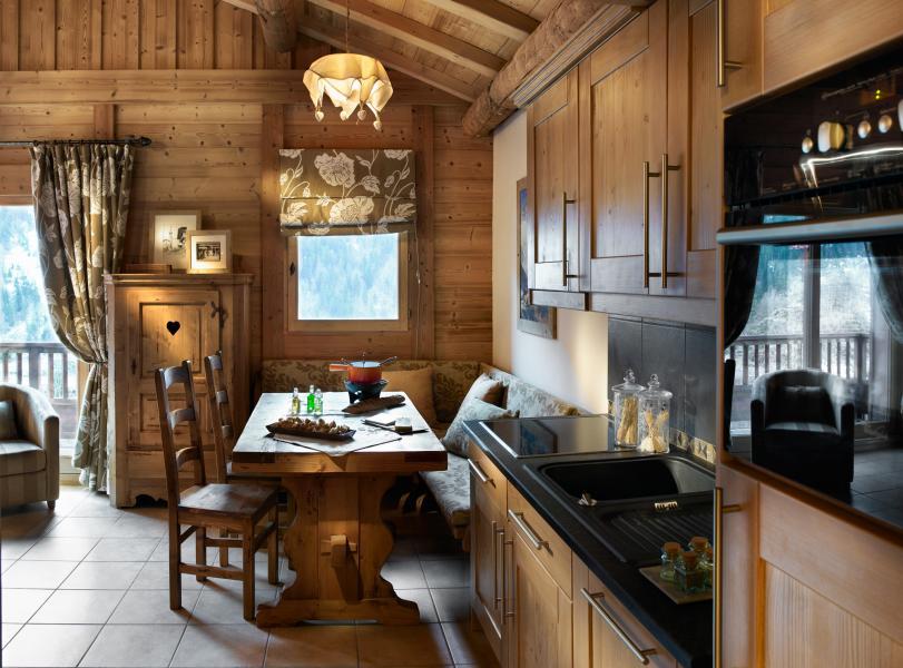 Urlaub in den Bergen Résidence les Alpages de Champagny - Champagny-en-Vanoise - Küche