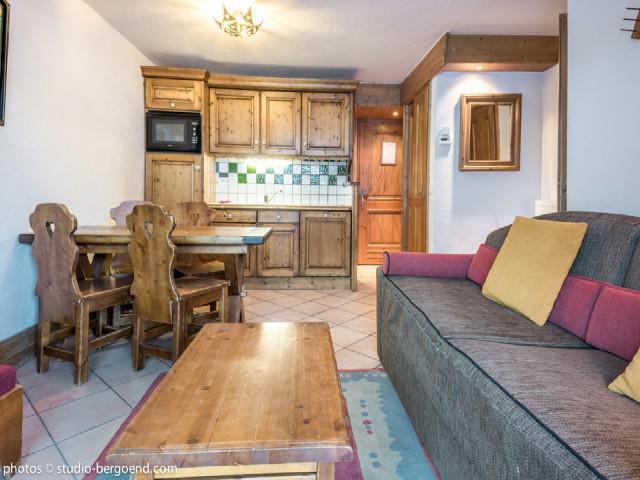 Vacaciones en montaña Apartamento 2 piezas para 4 personas (E8) - Résidence les Alpages de Chantel - Les Arcs - Cocina