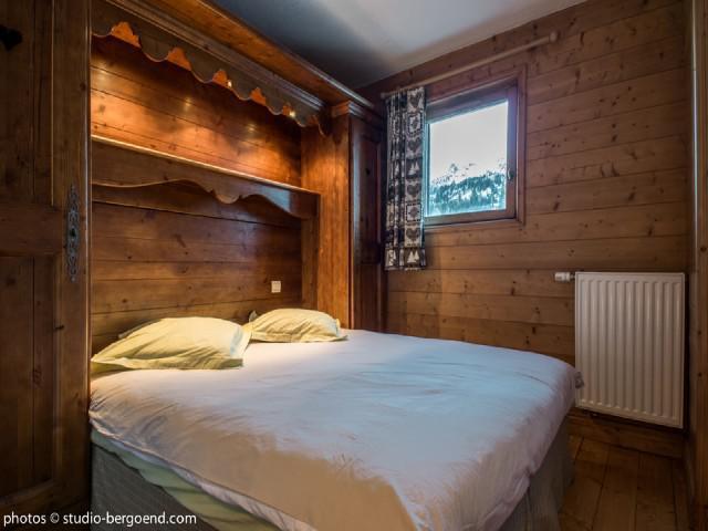 Vacaciones en montaña Apartamento 2 piezas para 4 personas (E8) - Résidence les Alpages de Chantel - Les Arcs - Habitación