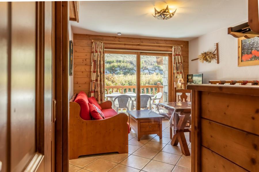 Vacaciones en montaña Apartamento 3 piezas para 4 personas (17F) - Résidence les Alpages de Chantel - Les Arcs - Estancia