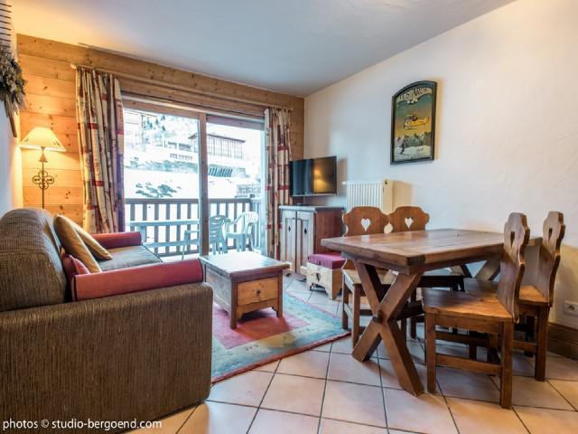 Vacaciones en montaña Apartamento 3 piezas para 4 personas (E8) - Résidence les Alpages de Chantel - Les Arcs - Estancia