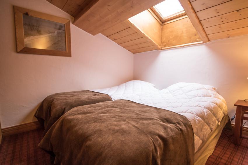 Vacaciones en montaña Apartamento dúplex 4 piezas 6 personas (E14) - Résidence les Alpages de Chantel - Les Arcs - Cama individual