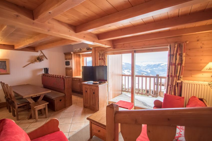 Vacaciones en montaña Apartamento dúplex 4 piezas 6 personas (E14) - Résidence les Alpages de Chantel - Les Arcs - Estancia