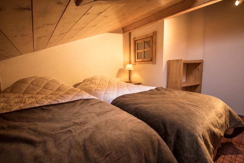 Vacaciones en montaña Apartamento dúplex 4 piezas 6 personas (E14) - Résidence les Alpages de Chantel - Les Arcs - Habitación abuhardillada