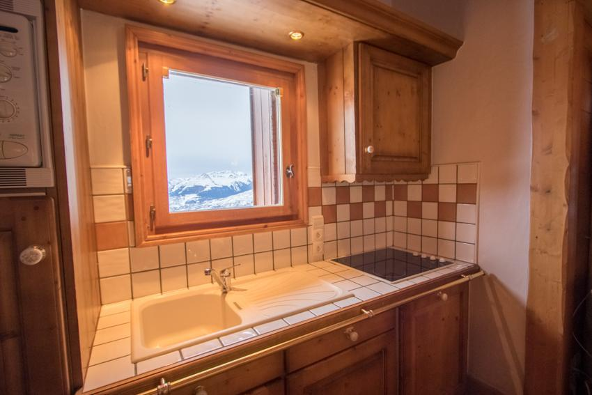 Vacaciones en montaña Apartamento dúplex 4 piezas 6 personas (E14) - Résidence les Alpages de Chantel - Les Arcs - Kitchenette