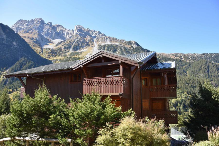 Vacaciones en montaña Apartamento dúplex 4 piezas 6 personas (18) - Résidence les Alpages de Pralognan A - Pralognan-la-Vanoise - Balcón