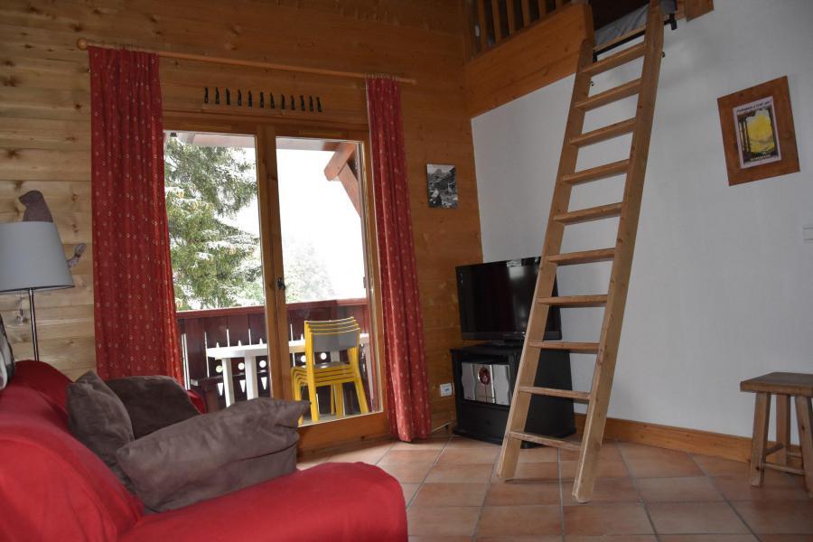 Wakacje w górach Apartament 4 pokojowy 6 osób (14) - Résidence les Alpages de Pralognan D - Pralognan-la-Vanoise - Pokój gościnny