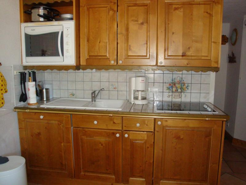 Wakacje w górach Apartament duplex 4 pokojowy 6 osób (19) - Résidence les Alpages de Pralognan D - Pralognan-la-Vanoise - Kuchnia