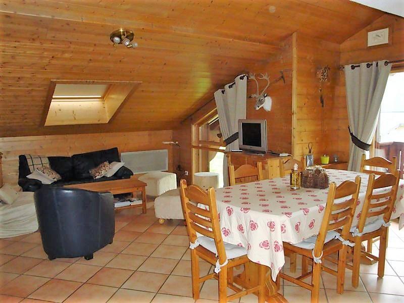 Wakacje w górach Apartament duplex 5 pokojowy 8 osób (17) - Résidence les Alpages de Pralognan D - Pralognan-la-Vanoise - Pokój gościnny