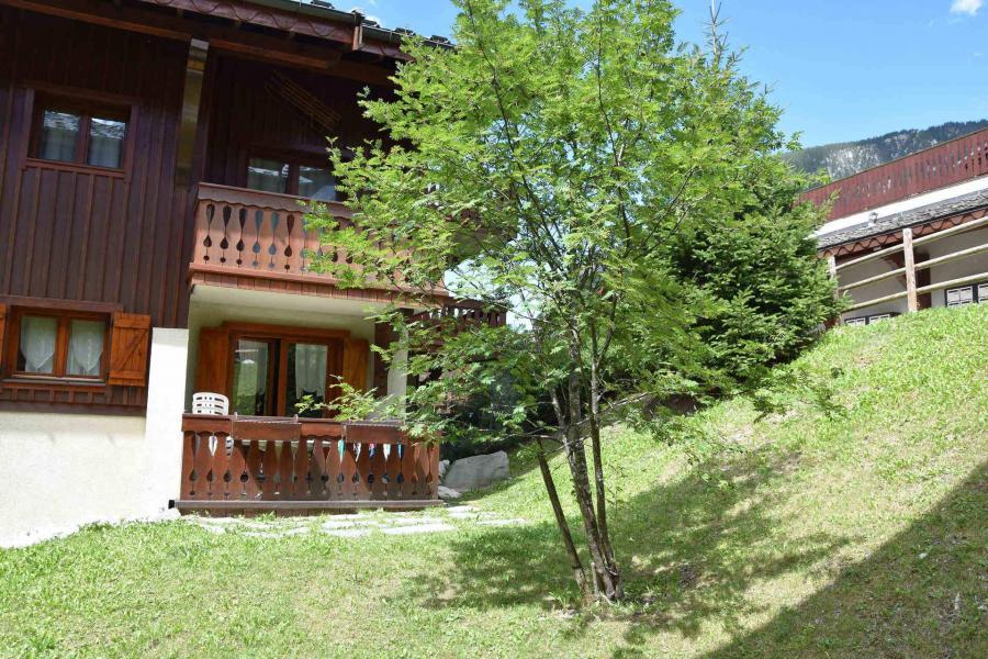 Wakacje w górach Apartament 3 pokojowy 4 osób (1) - Résidence les Alpages de Pralognan E - Pralognan-la-Vanoise - Na zewnątrz latem