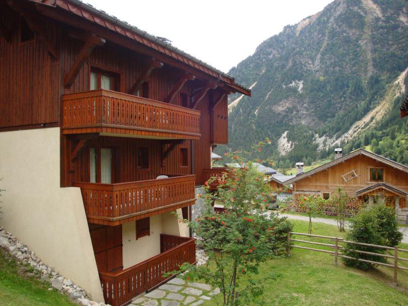 Wakacje w górach Résidence les Alpages de Pralognan E - Pralognan-la-Vanoise - Na zewnątrz latem