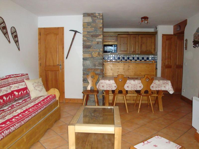 Wakacje w górach Apartament 3 pokojowy 6 osób (11) - Résidence les Alpages de Pralognan E - Pralognan-la-Vanoise - Jadalnia