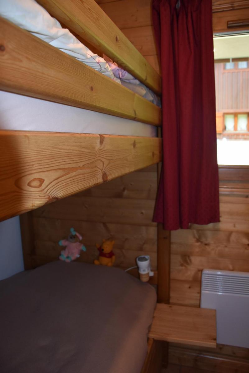 Vacaciones en montaña Apartamento 3 piezas para 4 personas (1) - Résidence les Alpages de Pralognan E - Pralognan-la-Vanoise - Camas superpuestas