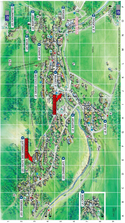 Vacaciones en montaña Résidence les Alpages de Pralognan F - Pralognan-la-Vanoise - Plano