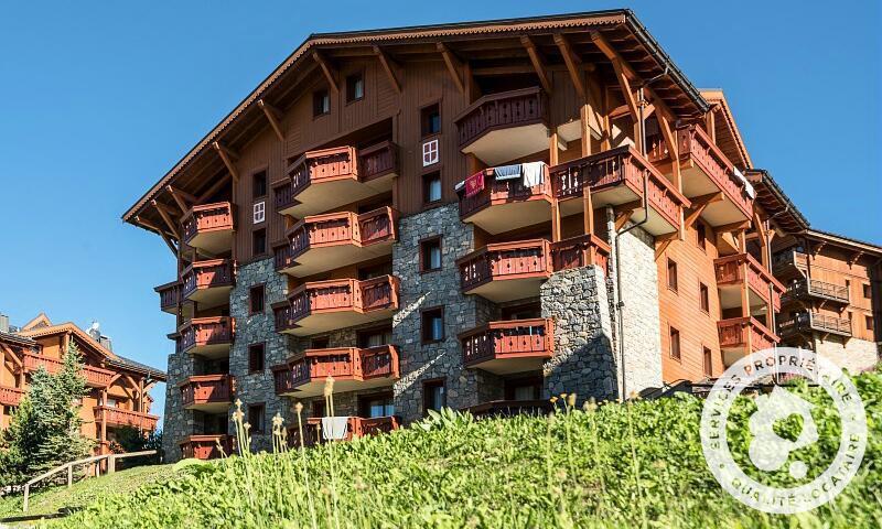Vacances en montagne Résidence les Alpages de Reberty - Maeva Home - Les Menuires - Extérieur été