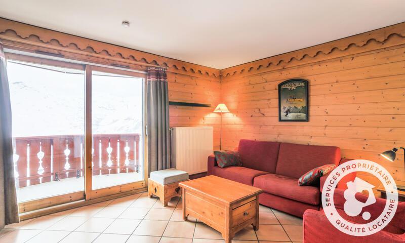 Vacances en montagne Appartement 3 pièces 6 personnes (Prestige 44m²-2) - Résidence les Alpages de Reberty - Maeva Home - Les Menuires - Extérieur été