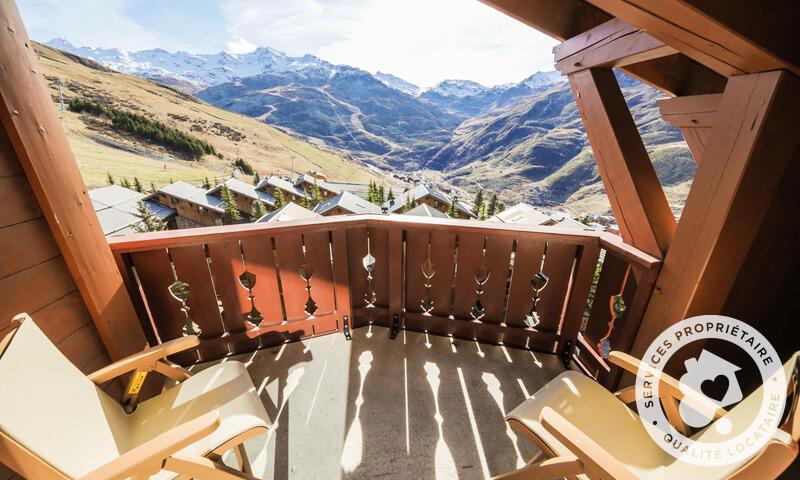 Vacances en montagne Appartement 3 pièces 8 personnes (Sélection 60m²-3) - Résidence les Alpages de Reberty - Maeva Home - Les Menuires - Extérieur été