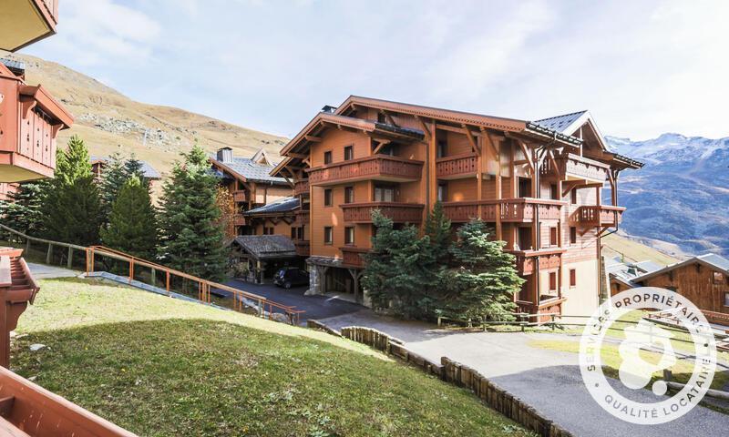 Vacances en montagne Appartement 3 pièces 6 personnes (Sélection 44m²) - Résidence les Alpages de Reberty - Maeva Home - Les Menuires - Extérieur été