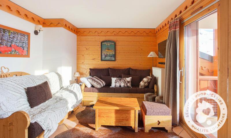 Vacances en montagne Appartement 3 pièces 8 personnes (Prestige 50m²-2) - Résidence les Alpages de Reberty - Maeva Home - Les Menuires - Extérieur été