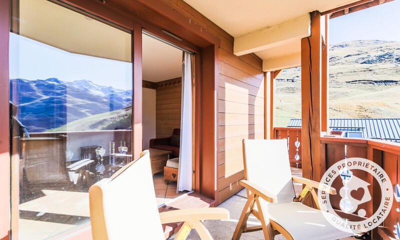 Vacances en montagne Appartement 3 pièces 6 personnes (43m²-2) - Résidence les Alpages de Reberty - Maeva Home - Les Menuires - Extérieur été