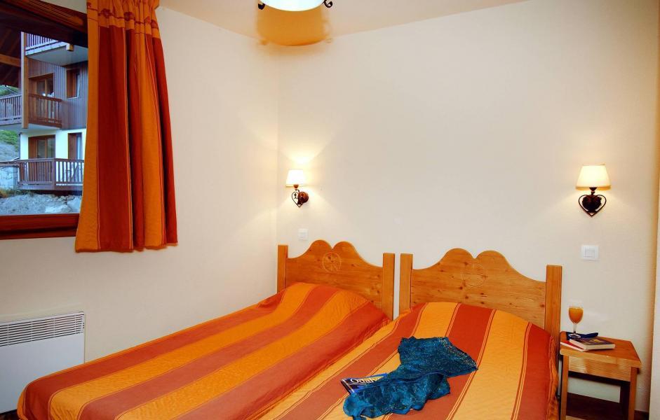 Urlaub in den Bergen Résidence les Alpages du Corbier - Le Corbier - Zwei Einzelbetten