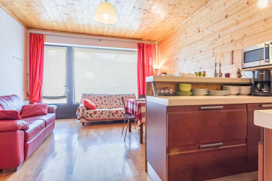 Holiday in mountain resort Studio sleeping corner 4 people (FULVIO) - Résidence les Alpets - Montgenèvre