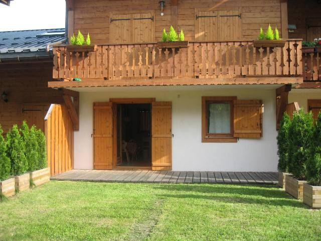 Holiday in mountain resort 2 room apartment cabin 6 people (B02) - Résidence les Améthystes - Les Houches