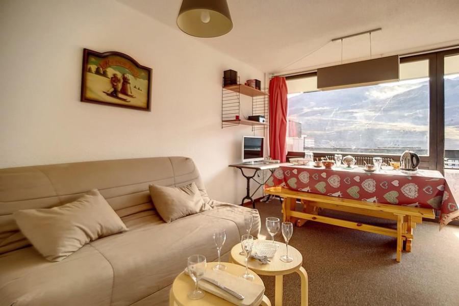 Vacances en montagne Appartement 2 pièces 6 personnes (316) - Résidence les Aravis - Les Menuires - Plan