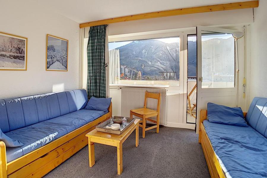 Vacances en montagne Appartement 2 pièces 6 personnes (115) - Résidence les Aravis - Les Menuires - Extérieur été