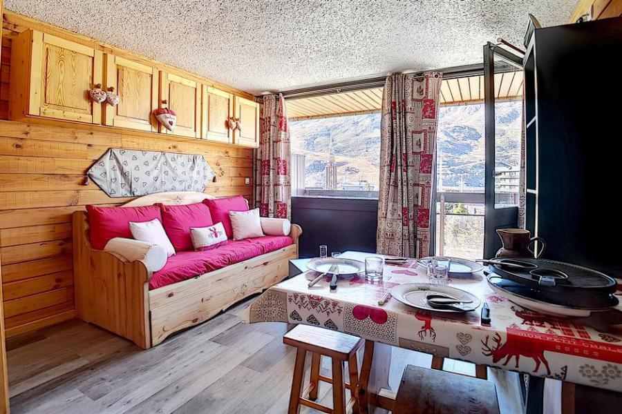 Vacances en montagne Studio 4 personnes (205) - Résidence les Aravis - Les Menuires