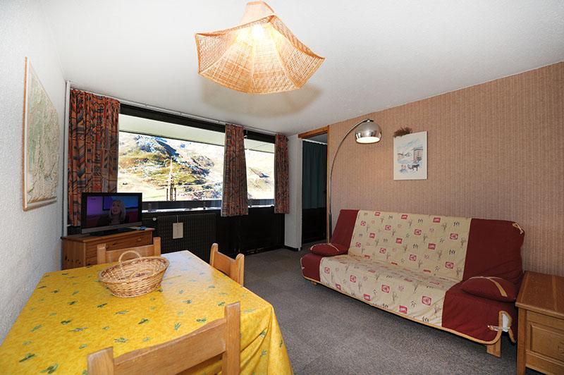 Vacances en montagne Appartement 2 pièces 5 personnes (519) - Résidence les Aravis - Les Menuires - Canapé-lit