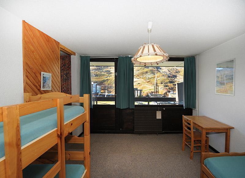 Vacances en montagne Appartement 2 pièces 5 personnes (519) - Résidence les Aravis - Les Menuires - Chambre