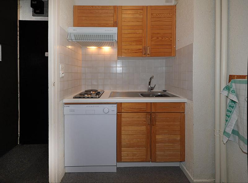 Vacances en montagne Appartement 2 pièces 5 personnes (519) - Résidence les Aravis - Les Menuires - Kitchenette
