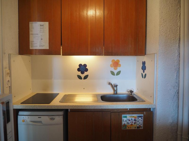 Vacances en montagne Appartement 2 pièces 6 personnes (417) - Résidence les Aravis - Les Menuires - Kitchenette