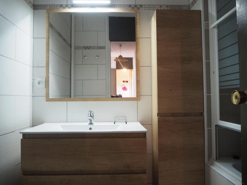 Vacances en montagne Appartement 2 pièces 6 personnes (417) - Résidence les Aravis - Les Menuires - Salle d'eau