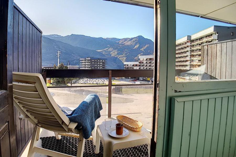 Vacances en montagne Studio 3 personnes (104) - Résidence les Aravis - Les Menuires - Séjour