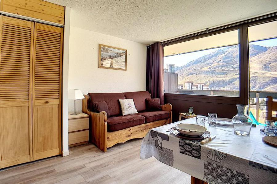 Vacances en montagne Studio 4 personnes (613) - Résidence les Aravis - Les Menuires - Kitchenette
