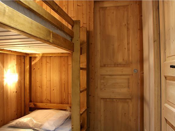 Vacances en montagne Studio 4 personnes (R07) - Résidence les Aravis - Les Menuires - Lits superposés