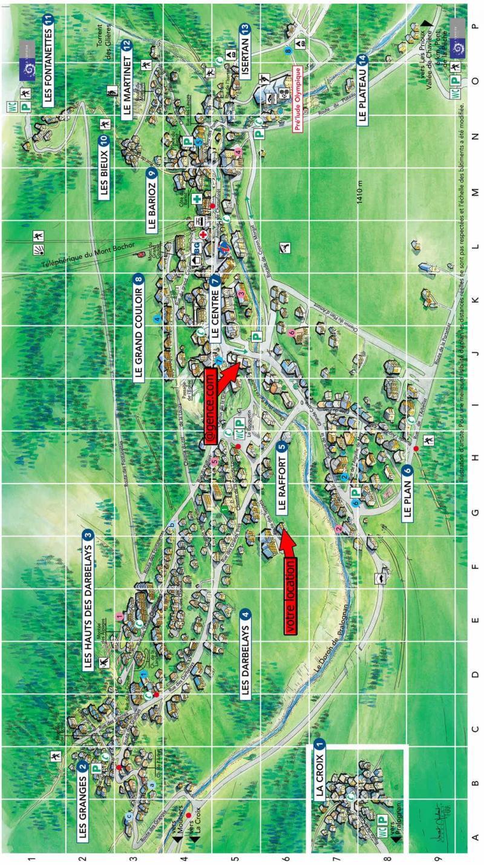 Wakacje w górach Résidence les Aroles - Pralognan-la-Vanoise - Plan