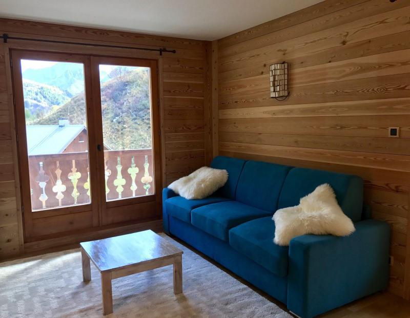 Wakacje w górach Apartament 2 pokojowy z alkową 6 osób (83) - Résidence les Arolles - Valloire - Kanapą