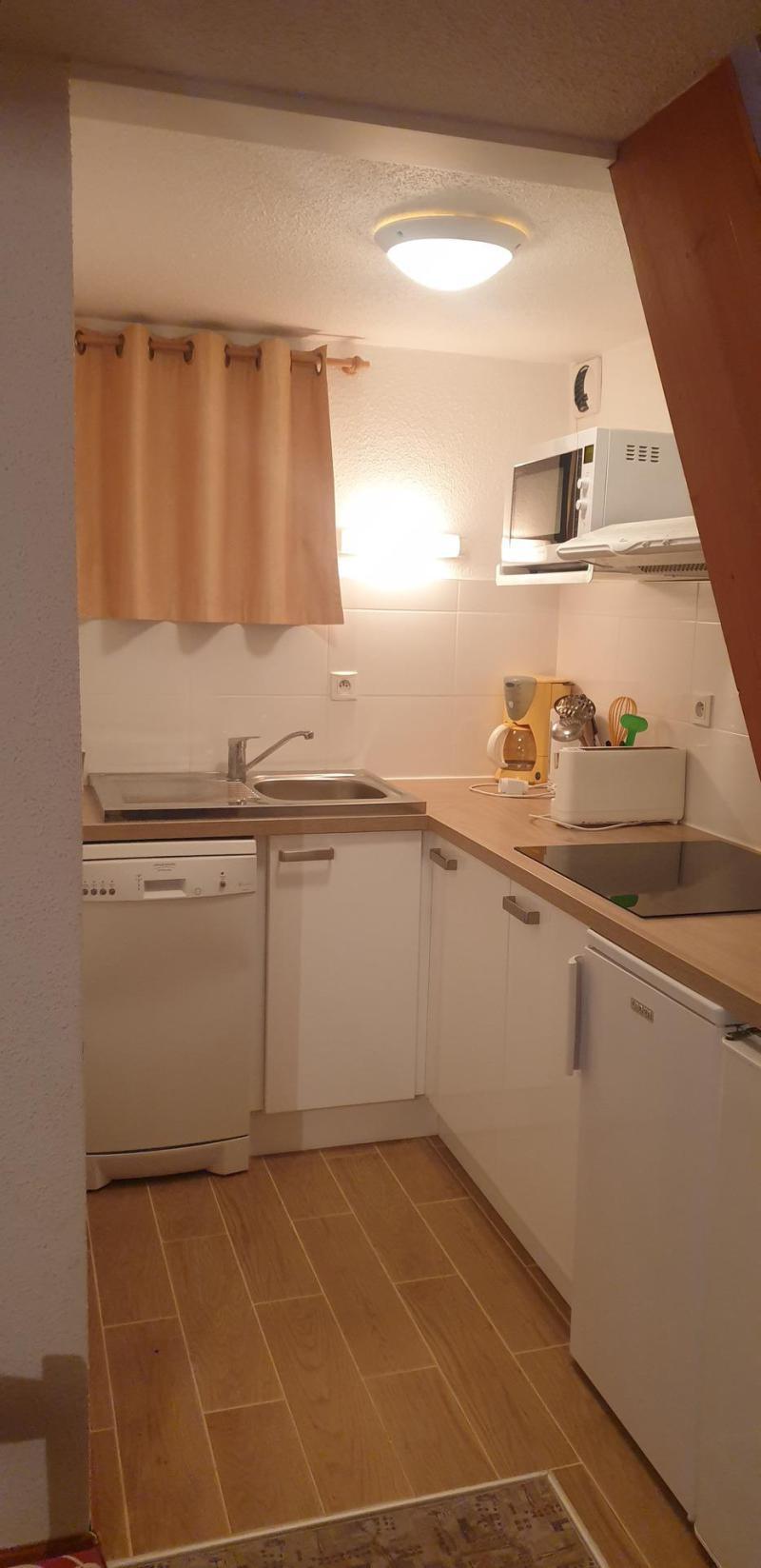 Vacaciones en montaña Apartamento 3 piezas mezzanine para 8 personas (AR17A) - Résidence les Arolles - La Norma - Sofá-cama