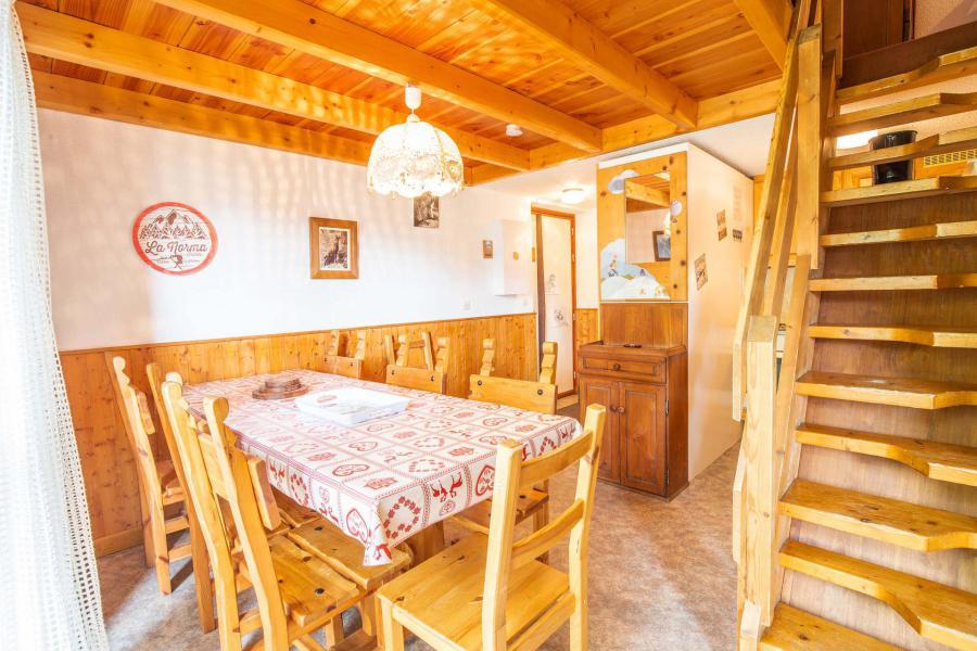 Vacaciones en montaña Apartamento 3 piezas mezzanine para 8 personas (AR36A) - Résidence les Arolles - La Norma - Cama doble