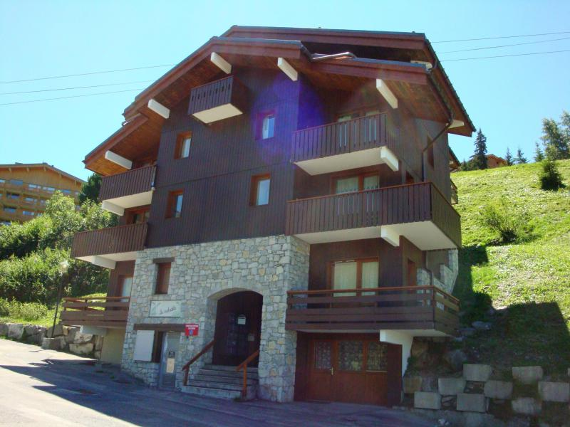 Location au ski Appartement 2 pièces 5 personnes (002) - Résidence les Asphodèles - Méribel-Mottaret - Extérieur été