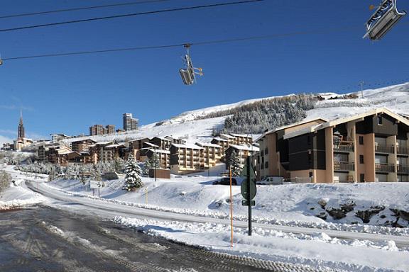 Vakantie in de bergen Résidence les Asters A2 - Les Menuires