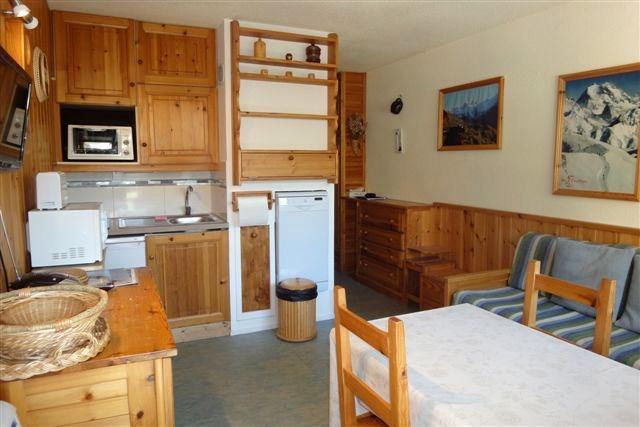 Vacances en montagne Appartement 2 pièces cabine 4 personnes (322) - Résidence les Asters - Les Menuires - Séjour