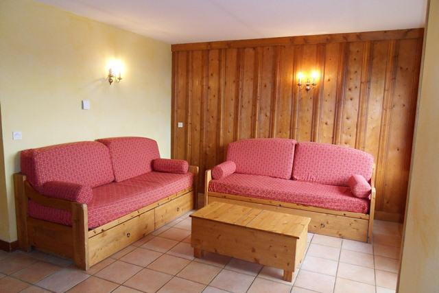 Holiday in mountain resort 3 room apartment 7 people (356) - Résidence les Balcons - La Plagne