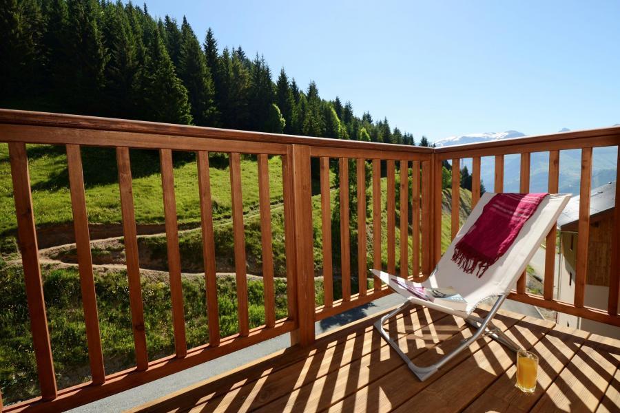 Vacances en montagne Résidence les Balcons d'Auréa - Auris en Oisans - Balcon