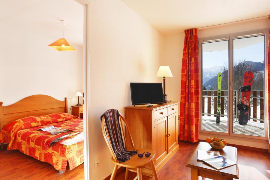 Urlaub in den Bergen Résidence les Balcons d'Ax - Ax-Les-Thermes - Schlafbereich
