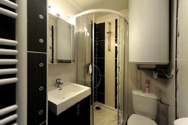 Vacances en montagne Appartement 2 pièces cabine 5 personnes (107) - Résidence les Balcons d'Olympie - Les Menuires - Salle de bains