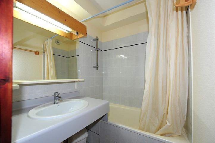 Vacances en montagne Appartement 2 pièces cabine 6 personnes (050) - Résidence les Balcons d'Olympie - Les Menuires - Salle de bains